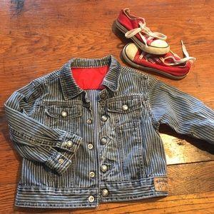 Vintage toddler jean jacket.